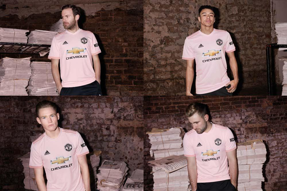 Manchester United 2018/19 adidas away jersey