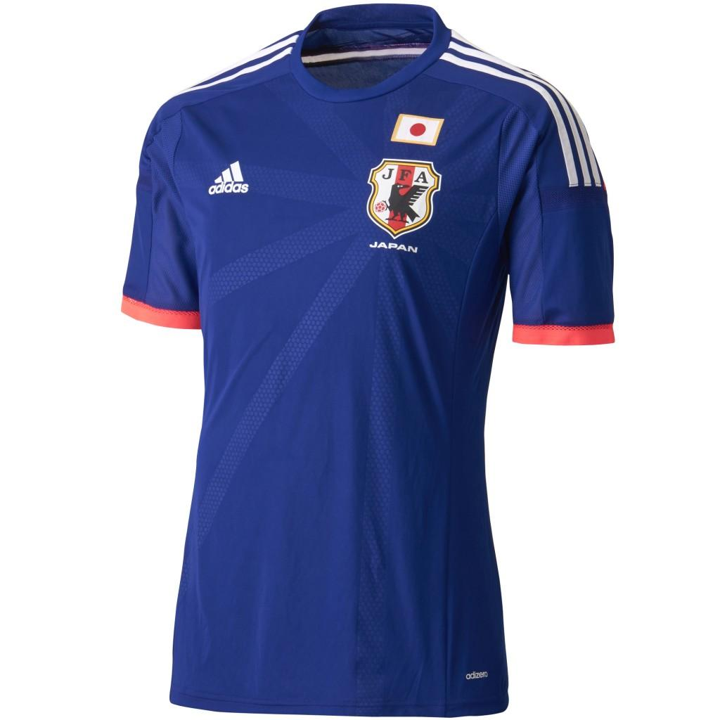 Japan s 2014 Home Jersey- The Blue Samurai 8bfb8454f