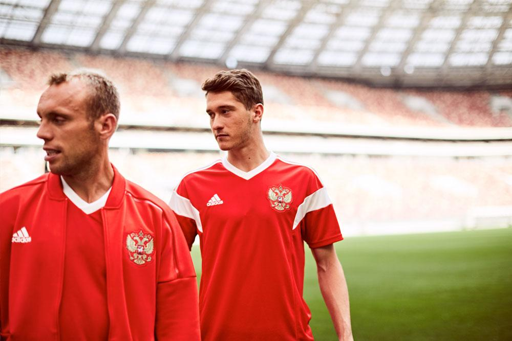 2018 adidas Russia Home Jersey