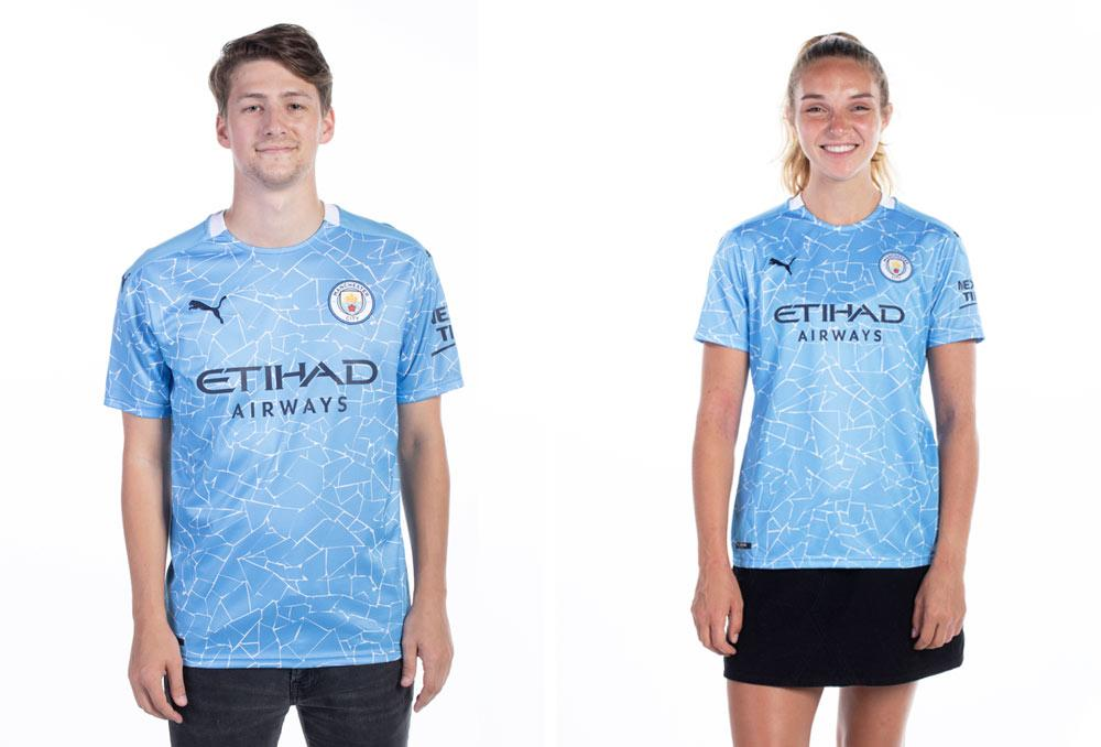 PUMA Manchester City authentic and replica crests