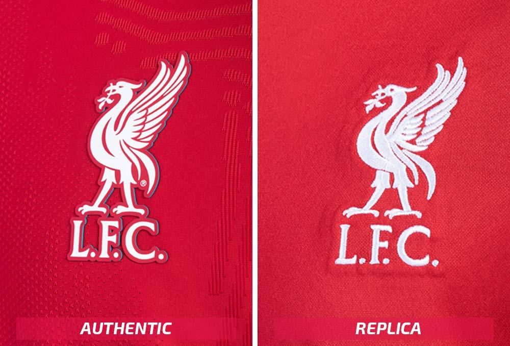 Nike Liverpool authentic and replica soccer jerseys