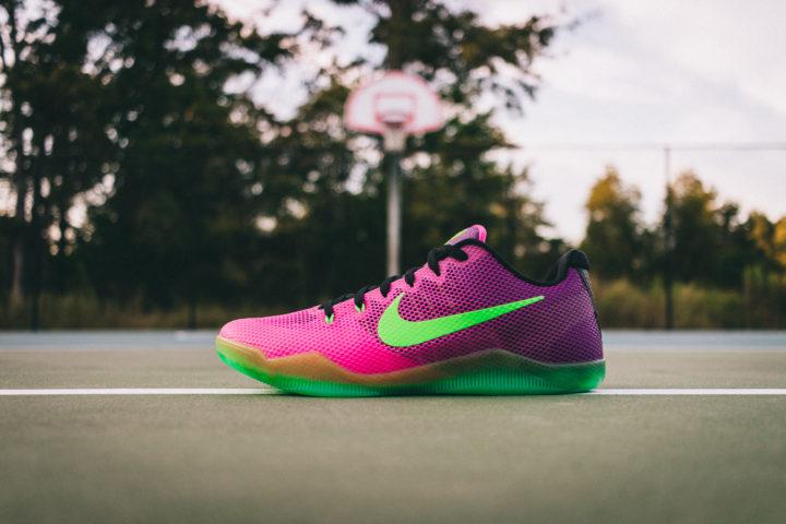 55871b98329b Ready to rattle cages  The Nike Kobe XI Mambacurial