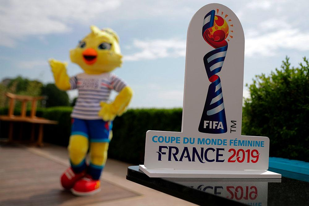 ettie the chicken is official mascot of the 2019 FIFA Women's World Cup