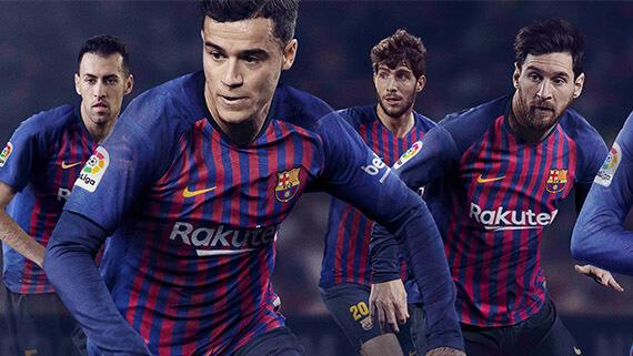 2abd81a3 Ten Districts, One Barcelona - Nike Barcelona 2018-19 Home Jersey