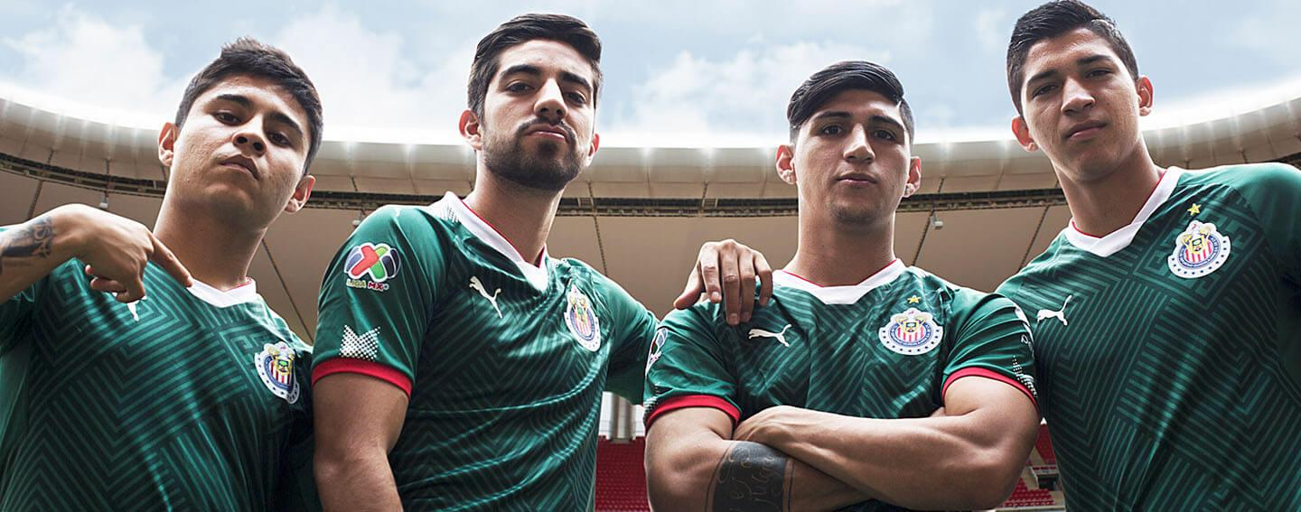 PUMA launches Mexico-inspired 17-18 Chivas Third Jersey