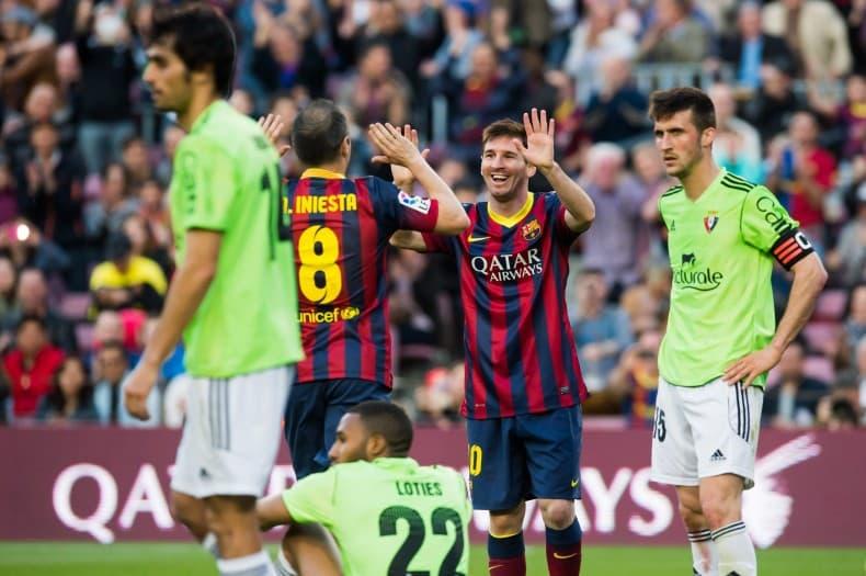 3ebd0a9f61b FC Barcelona v CA Osasuna - La Liga