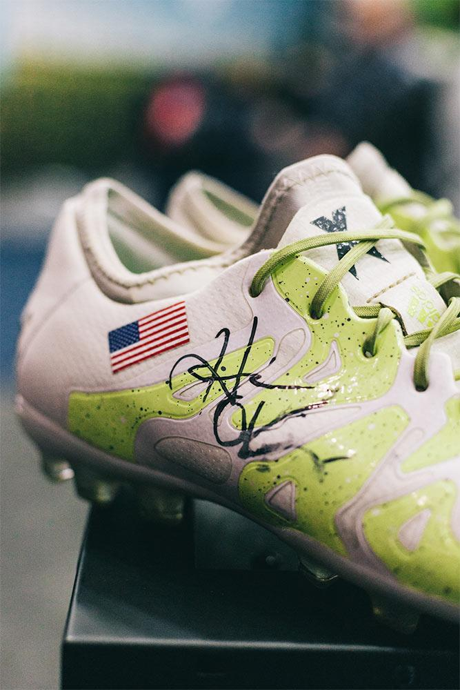 Heather O'Reilly signed adidas X cleats