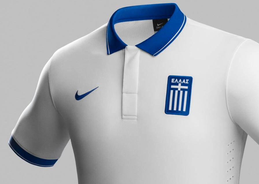 Nike s Greece 2014 Home Away Kits 6bcea5761