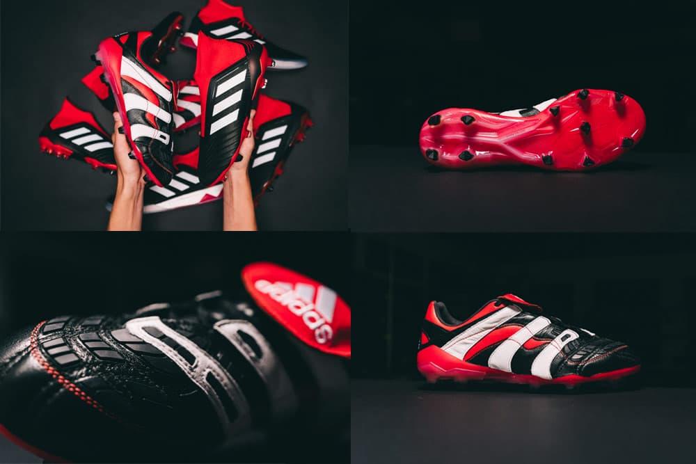 the latest aa9d2 f3b07 adidas Predator Accelerator BlackRedWhite Remake Soccer cleats