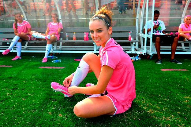 PUMA Project Pink Celebrity Soccer Match