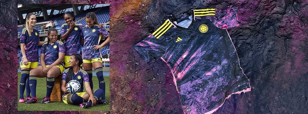 1f65411b18 Colombia Soccer Jerseys & Team Gear | SOCCER.COM
