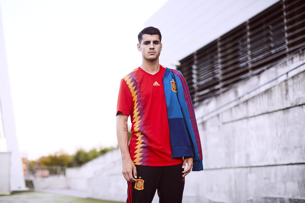 2018 adidas Spain World Cup jerseys