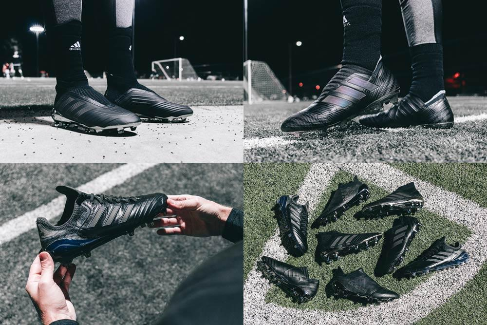 0edcc81dbb8f SOCCER.COM releases blackout adidas Nite Crawler Pack