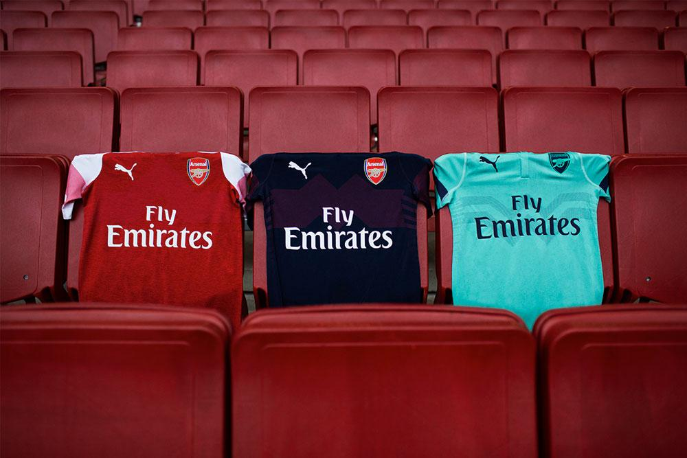 6e5ddb046 2018-19 PUMA Arsenal Third kit launches in Singapore
