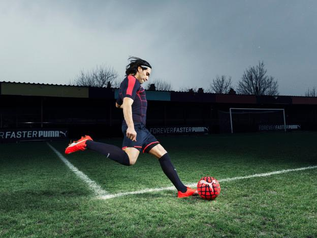 Radamel Falcao wears the new PUMA evoSPEED SL Football Boot_2