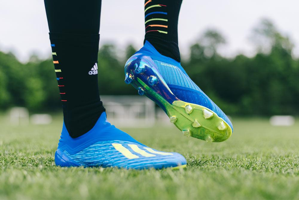 SOCCER COM launches the adidas X18 Purespeed soccer cleats