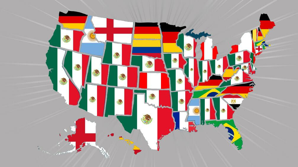 8df42dcd4 Infographic  Top World Cup jerseys by state