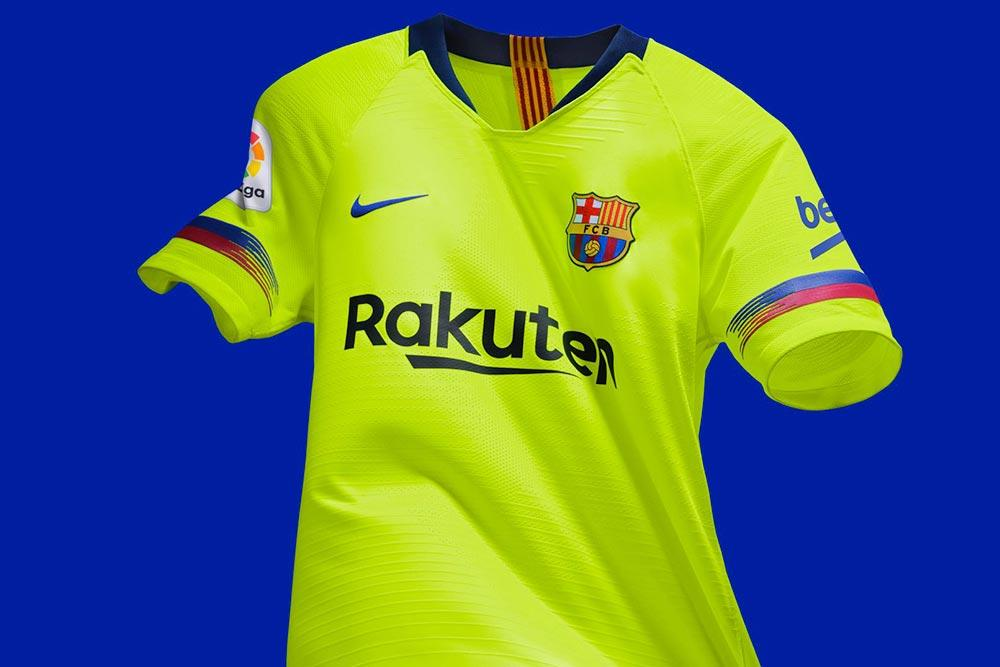 dfcfa162b The kit is a nod to the highlighter yellow jersey worn by Barcelona during  their memorable 2005-2006 season. Ronaldinho was in his prime and the team  had ...