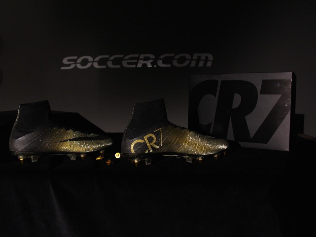 cheaper 7ed9b 31a69 Up close with the Nike Mercurial CR7 Rare Gold, No. 3 of 333