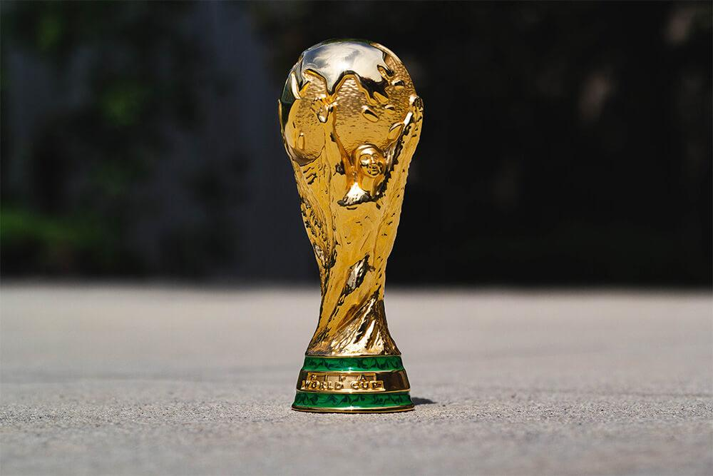 Replica FIFA World Cup trophy