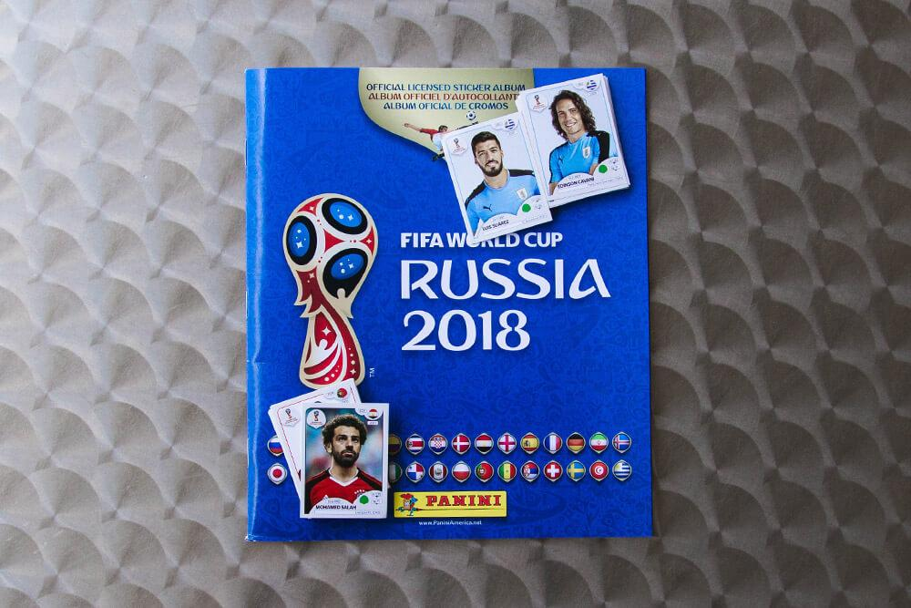 2018 FIFA World Cup Panini album and stickers