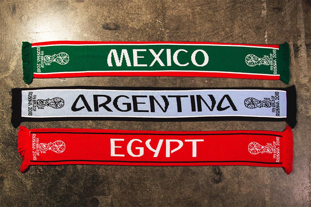 2018 FIFA World Cup scarves