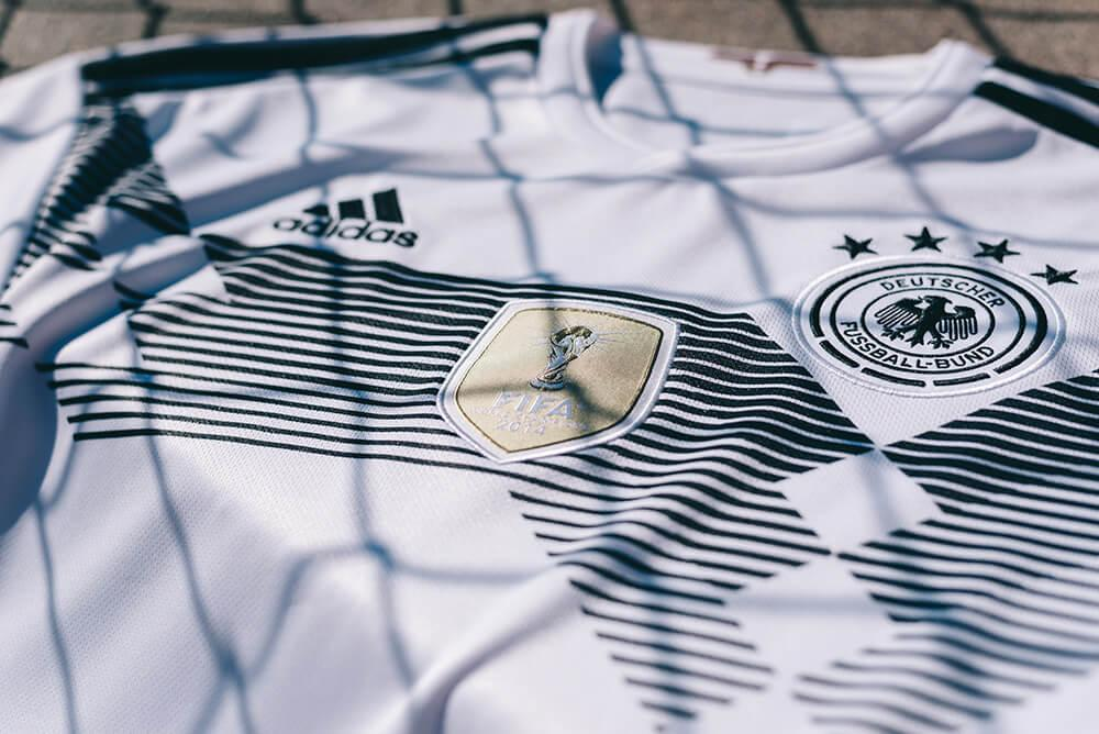 2018 adidas Germany Home Jersey