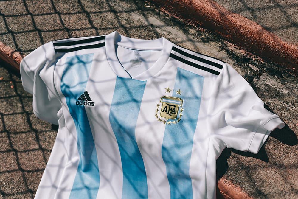 2018 adidas Argentina Home Jersey