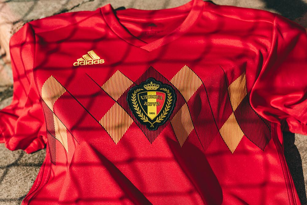 a5d48619ff1 2018 adidas Belgium Home Jersey You might remember Belgium as the team that  bested the United States in ...