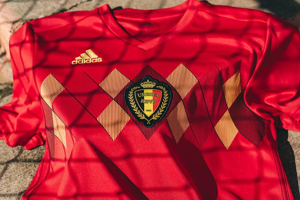 2018 adidas Belgium Home Jersey