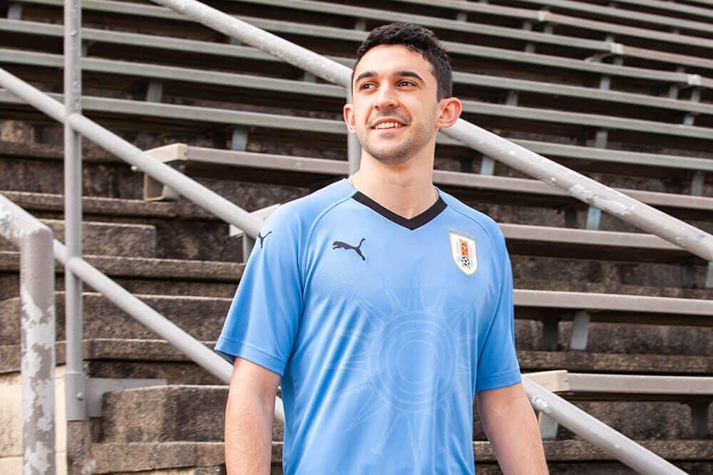 2018 PUMA Uruguay home jersey