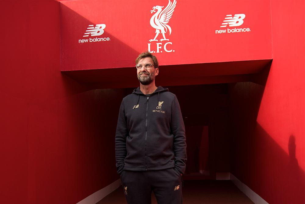 ffa96b02e ... true for Jurgen Klopp s Liverpool FC on Sunday as the manager showed  off his fresh New Balance Manager s Collection during a 4-0 romp against  West Ham.
