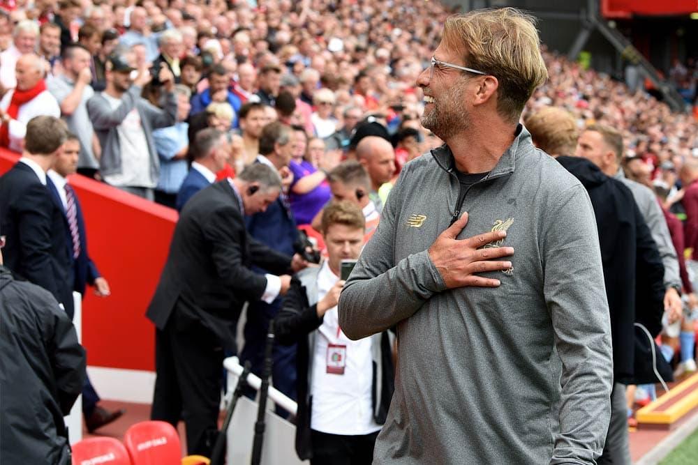 0cabba024 Exclusive  Liverpool FC s Jurgen Klopp debuts New Balance Manager s ...
