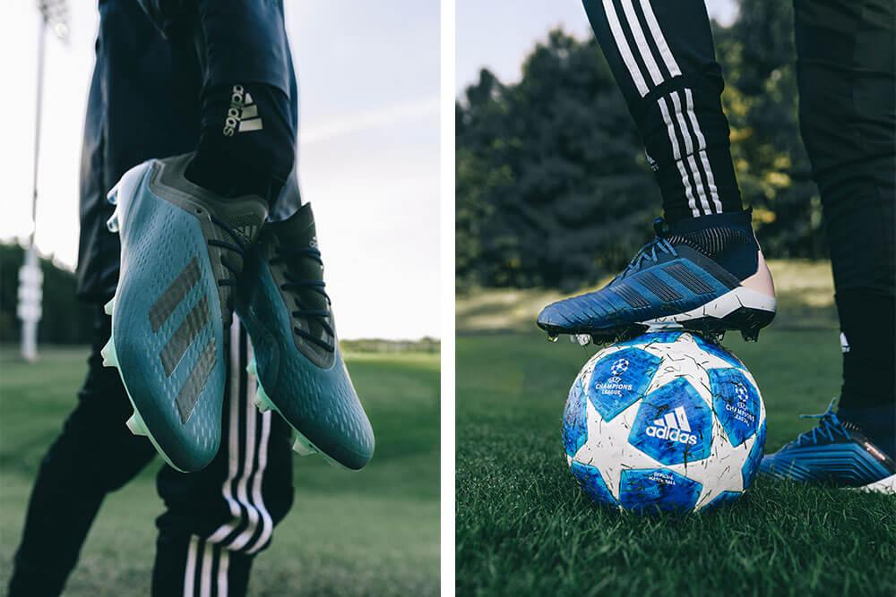 adidas Cold Mode X and Predator soccer cleats