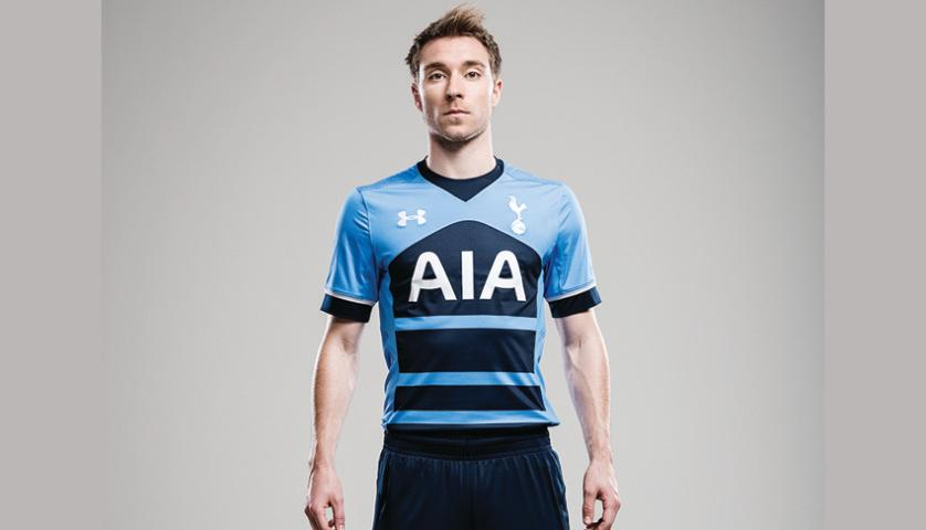 cf40bc5d1 The new away kit will make its on-pitch debut during Spurs  pre-season  friendly against the MLS All-Star team in Colorado on July 29th. The 2015-16  Under ...