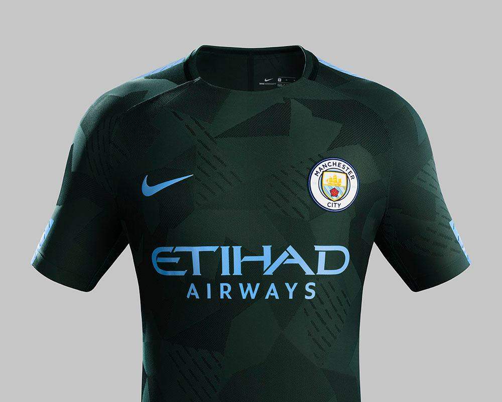 Nike Manchester City Third Jersey 17/18