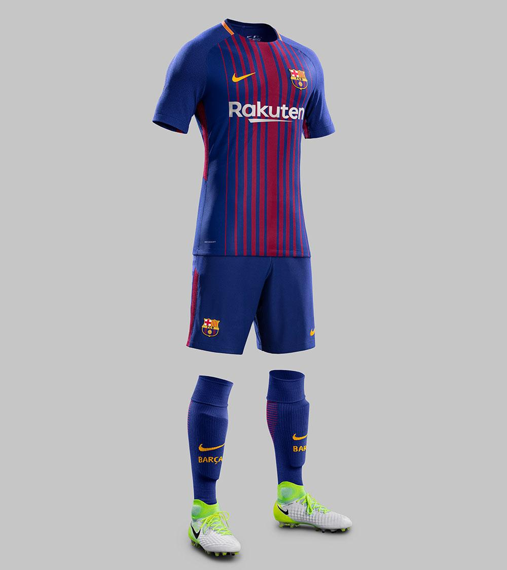 6cb00b79424 2017-18 Nike FC Barcelona home jersey launches for retail