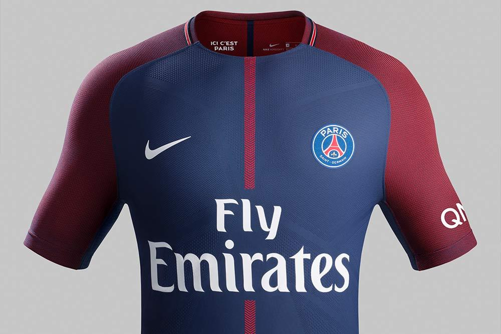 68eae06d 2017-18 Nike Paris Saint-Germain home jersey