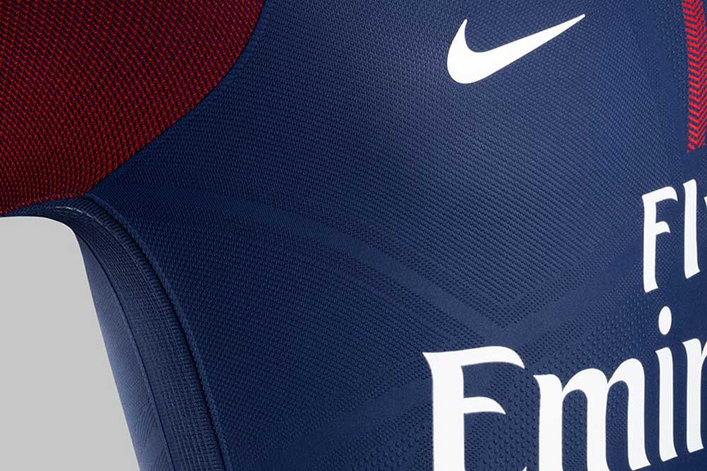 big sale 3a0a7 9abc7 2017-18 Nike Paris Saint-Germain home jersey