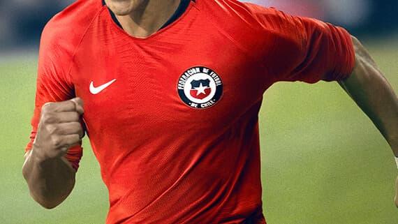 d4237a9120f Chile National Team Soccer Jerseys   SOCCER.COM
