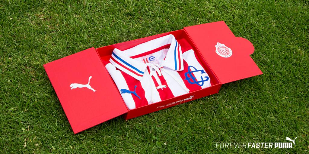 166a6aa3d PUMA x Chivas 110th Anniversary jerseys honor rich history