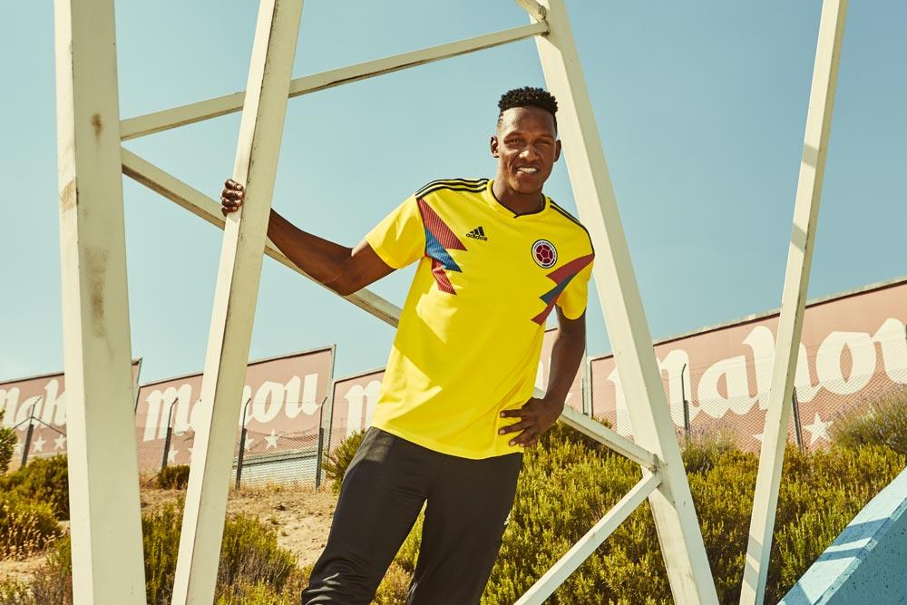 2018 adidas Colombia World Cup jerseys
