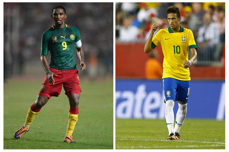 48abc239f ... Etoo 9 -The Indomitable Lions 2014 FIFA World Cup Brazilx2122 preview  Cameroon v Brazil Cameroon National Team ...