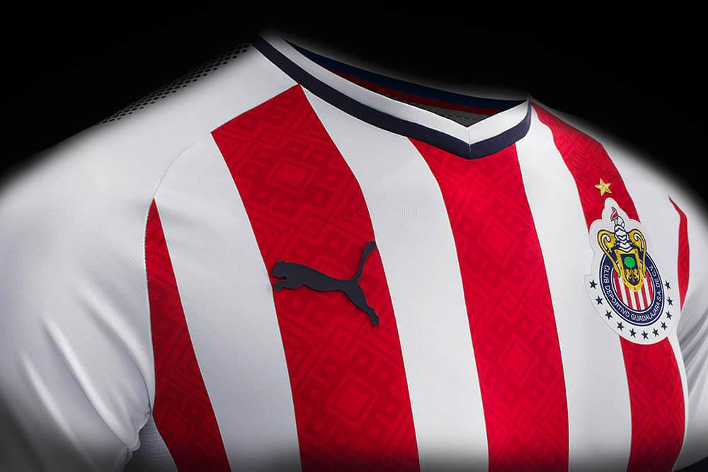 buy online 1141c 4d5aa PUMA launch new Chivas 2017-18 jerseys