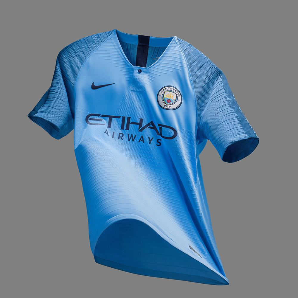 cff2dd2f866 New 2018 19 Nike Manchester City kits unveiled