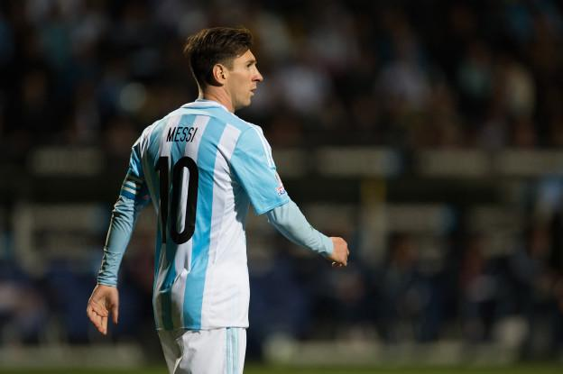 Action photo during the match Argentina vs Jamaica, Corresponding of the group -B- of XLIV Copa America Chile 2015 at Sausalito stadium, Vina del Mar, Chile, in the photo: Lionel Messi of Argentina  Foto de accion durante el partido Argentina vs Jamaica, Correspondiente al grupo -B- de la XLIV Copa America Chile 2015 en el estadio Sausalito, Vina del Mar, Chile, en la foto: Lionel Messi de Argentina  20/06/2015/MEXSPORT/Jorge Martinez.