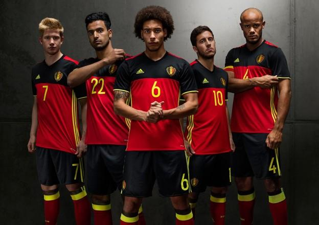 Built for No. 1  2016 adidas Belgium home and away jersey f847c8591
