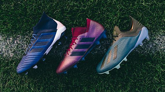 reputable site 6c7bf 87da1 adidas launches Cold Mode soccer cleats with Primaloft insulation