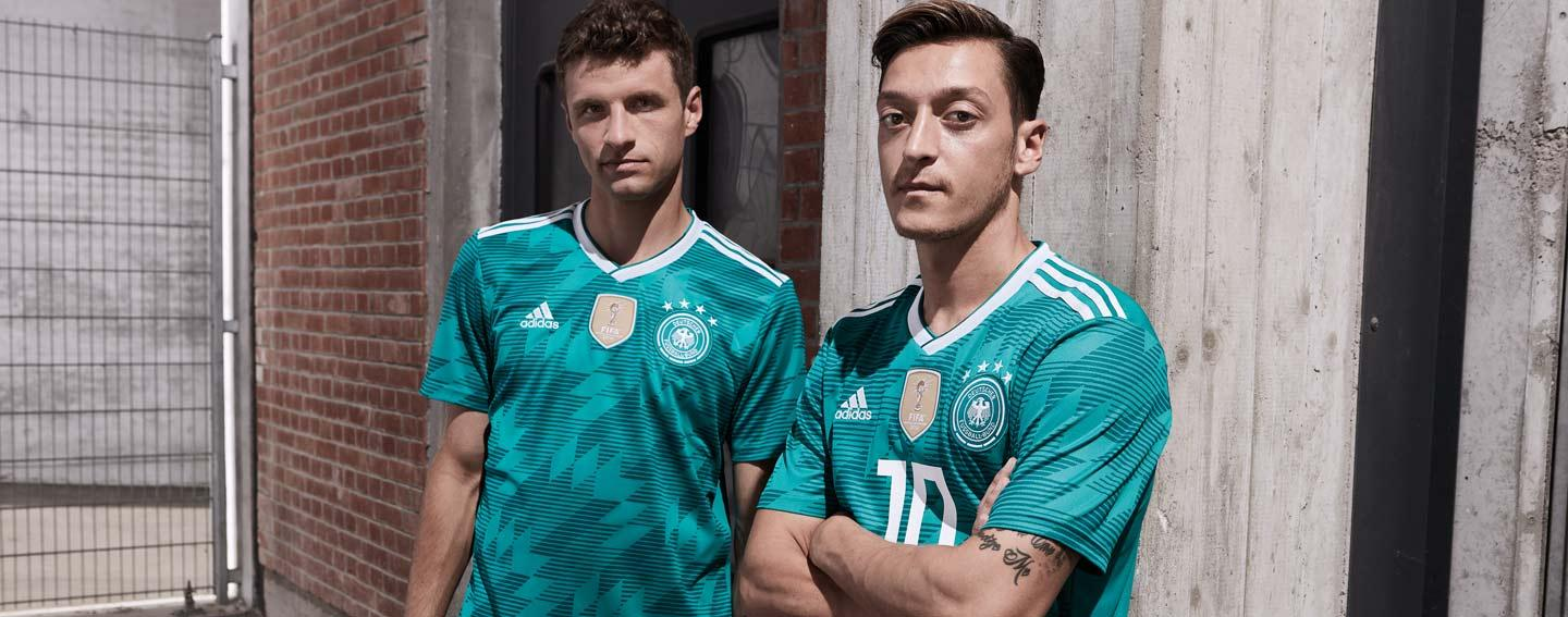 2018 adidas Germany World Cup kits revealed b1cf97e4f