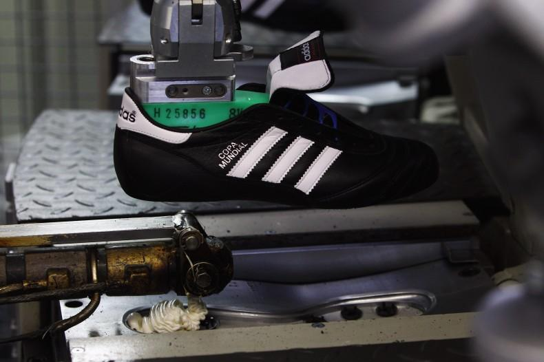 adidas Shoe Production Ahead Of Results